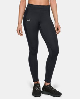 New Arrival Women's ColdGear® Run Storm Tights  2  Colors Available $75