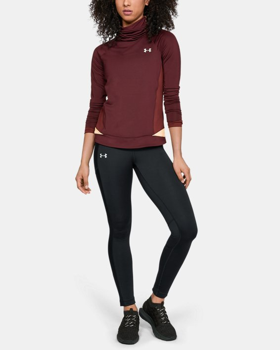 Legging ColdGear® Run Storm pour femme, Black, pdpMainDesktop image number 1