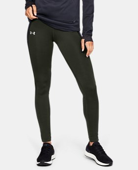 New Arrival Women's ColdGear® Run Storm Tights  1  Color Available $75