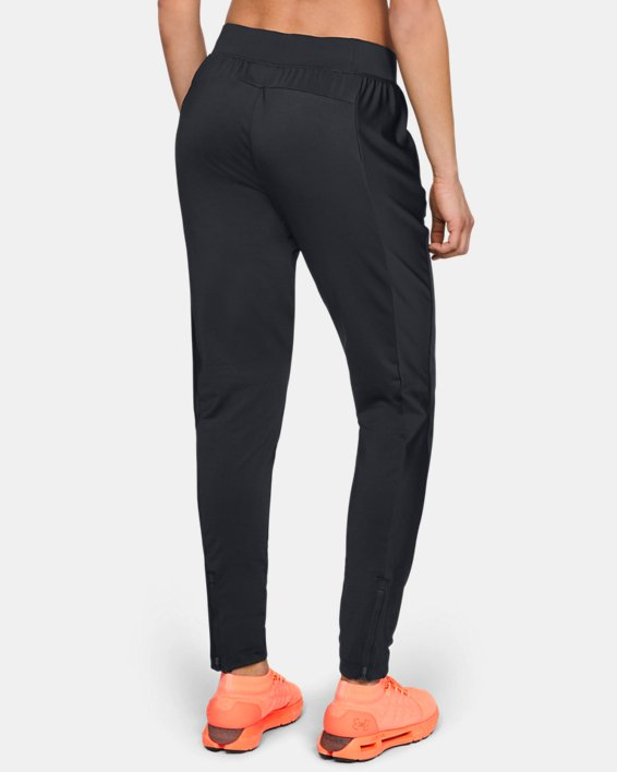 Women's ColdGear® Run Pants, Black, pdpMainDesktop image number 3