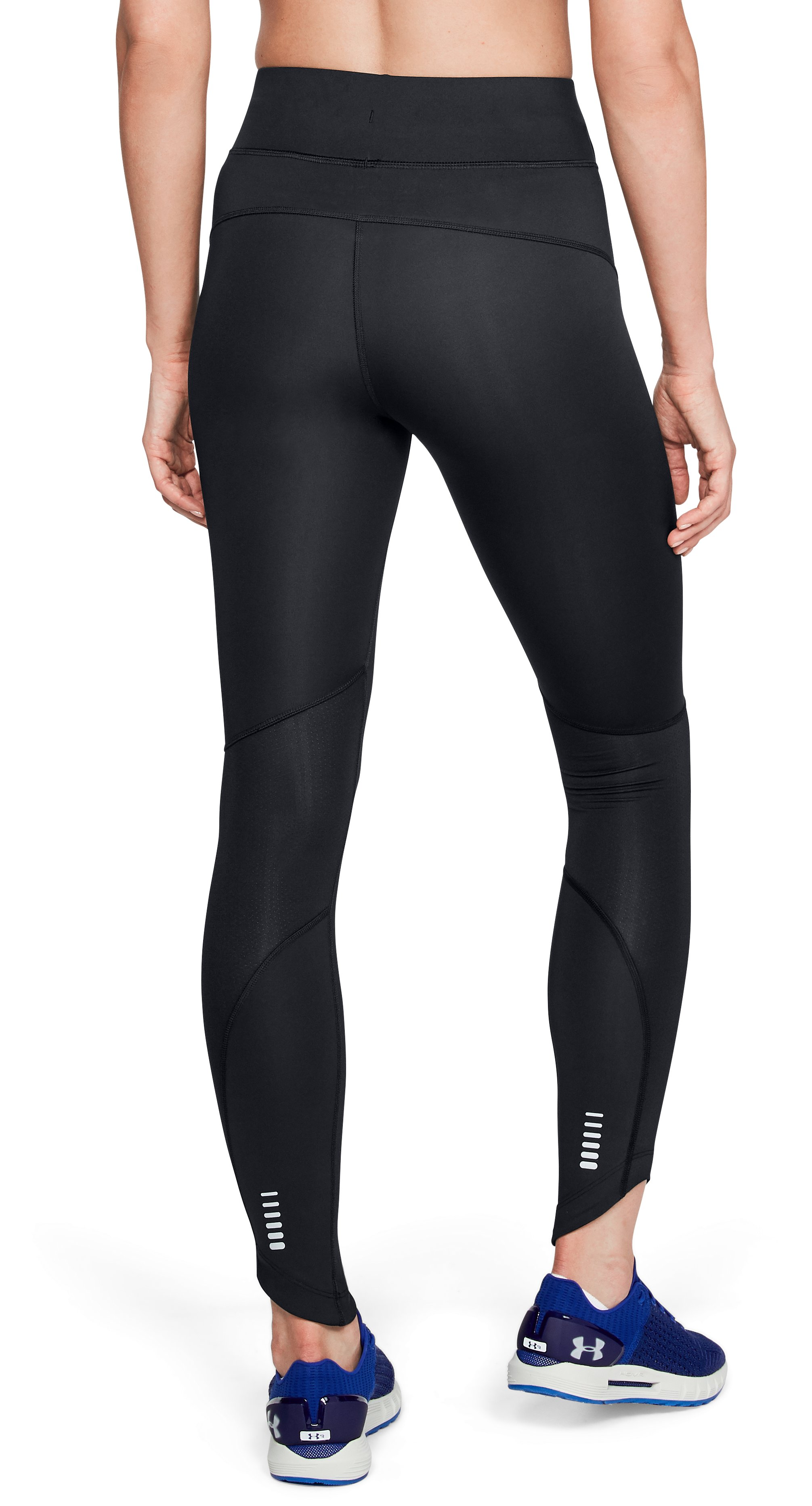 Women's UA OutRun The Storm Tights, Black ,
