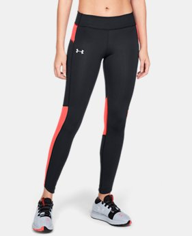 Women's UA OutRun The Storm Tights  3  Colors Available $90