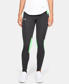 Women's UA OutRun The Storm Tights  1  Color Available $110