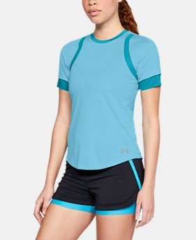New Arrival  Women's UA HexDelta Short Sleeve  1  Color Available $70