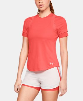 Women's UA HexDelta Short Sleeve  3  Colors Available $70