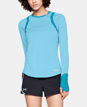 New Arrival Women's UA HexDelta Long Sleeve  2  Colors Available $65