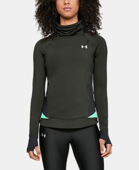 New Arrival Women's ColdGear® Reactor Run Funnel Neck   $85