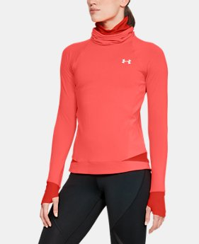 New Arrival Women's ColdGear® Reactor Run Funnel Neck  1  Color Available $85