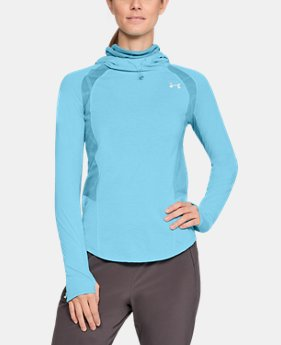New to Outlet Women's UA Swyft Funnel Hoodie  1  Color Available $60