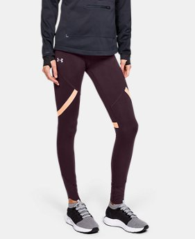 New Arrival Women's ColdGear® Reactor Run Tights  1  Color Available $90