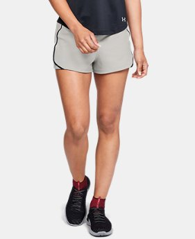 New to Outlet Women's UA Speedpocket Shorts  2  Colors Available $33.99 to $41.99