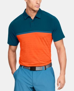 Best Seller Men's UA Microthread Calibrate Polo  4  Colors Available $75