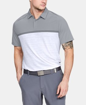 Best Seller Men's UA Microthread Calibrate Polo  1  Color Available $75