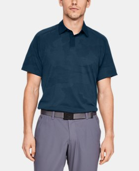 Men's UA Microthread Sprocket Polo  5  Colors Available $75