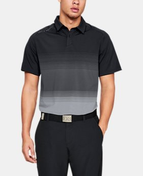 New Arrival  Men's UA Microthread Gradient Polo  3  Colors Available $95
