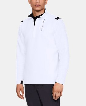 New Arrival Men's UA Storm Daytona ½ Zip FREE U.S. SHIPPING 1  Color Available $90
