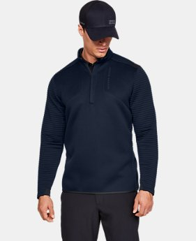 Best Seller Men's UA Storm Daytona ½ Zip  1  Color Available $90