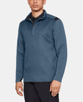 Best Seller Men's UA Storm Daytona ½ Zip  2  Colors Available $90