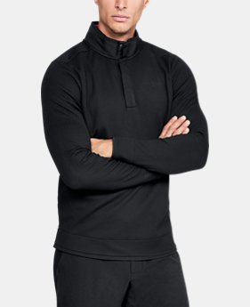 New Arrival  Men's UA Storm SweaterFleece Snap Mock  7  Colors Available $90