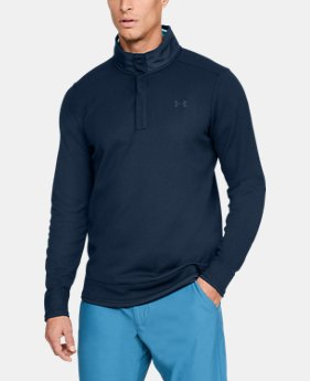 Best Seller Men's UA Storm SweaterFleece Snap Mock  1  Color Available $75
