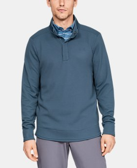 Best Seller  Men's UA Storm SweaterFleece Snap Mock  3  Colors Available $90