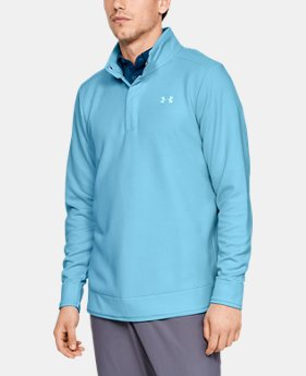 New Arrival  Men's UA Storm SweaterFleece Snap Mock  3  Colors Available $90