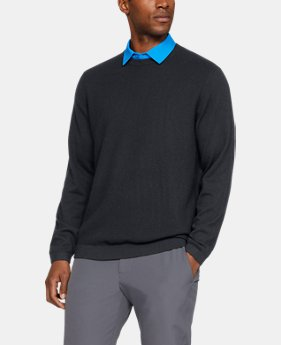 Best Seller Men's UA Threadborne Crew Sweater  1  Color Available $100