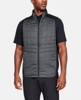 New Arrival  Men's UA Insulated Vest  2  Colors Available $130
