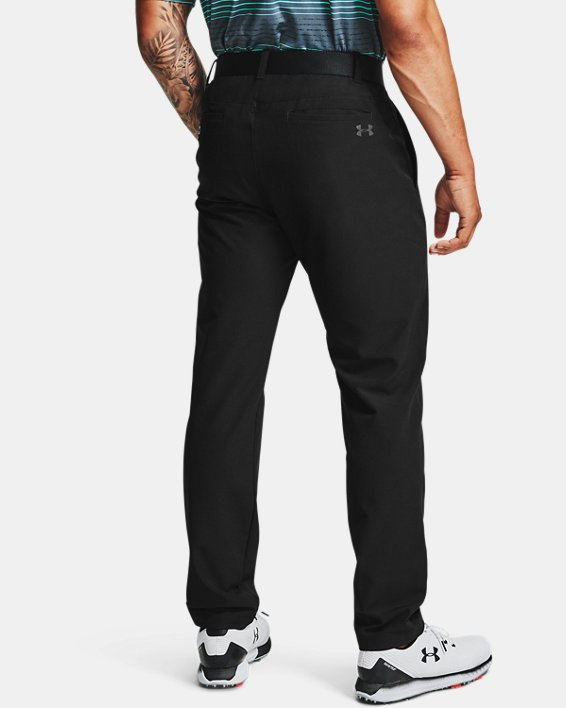 Men's ColdGear® Infrared Showdown Tapered Pants, Black, pdpMainDesktop image number 3