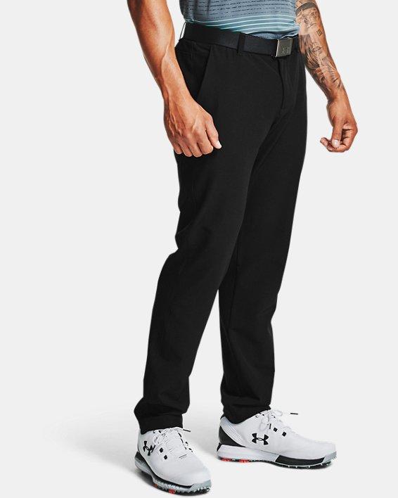 Men's ColdGear® Infrared Showdown Tapered Pants, Black, pdpMainDesktop image number 2