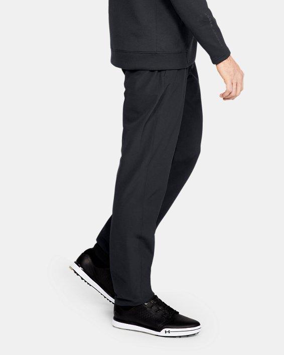 Men's ColdGear® Infrared Showdown Tapered Pants, Black, pdpMainDesktop image number 4