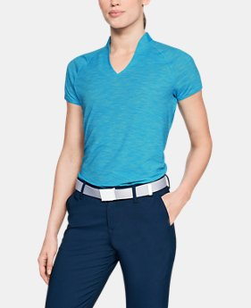 Women's UA Microthread Edge Polo  2  Colors Available $80