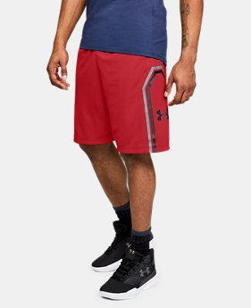 New Arrival  Men's UA Big Stage Shorts  1  Color Available $45