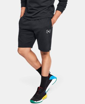 New Arrival Men's UA Baseline Fleece Shorts  1  Color Available $45