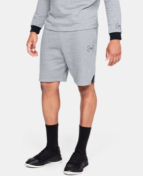 Men's UA Baseline Fleece Shorts   $45