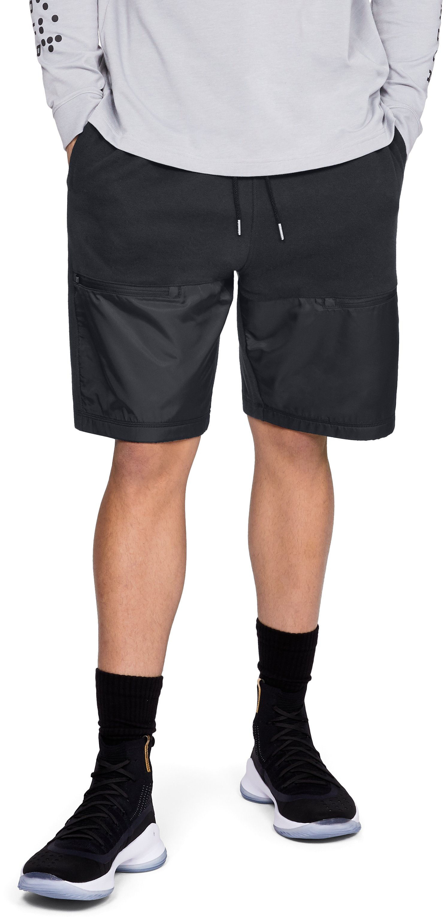 Men's UA Pursuit Microthread Shorts, Black