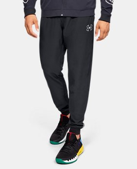 Men's UA Baseline Woven Joggers  4  Colors Available $75