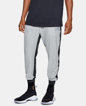 Men's UA Baseline Woven Joggers  1  Color Available $75