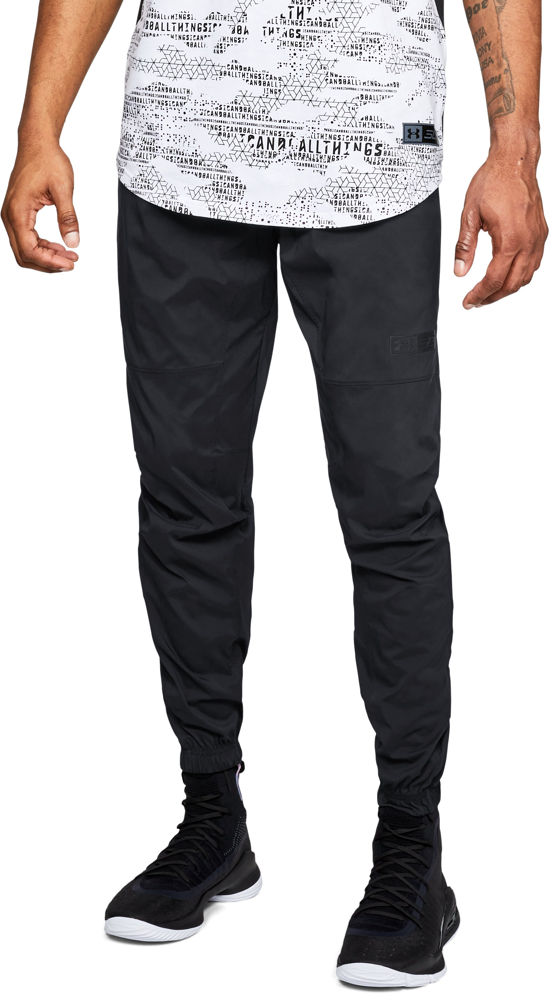 Men's SC30 Woven Pants, Black