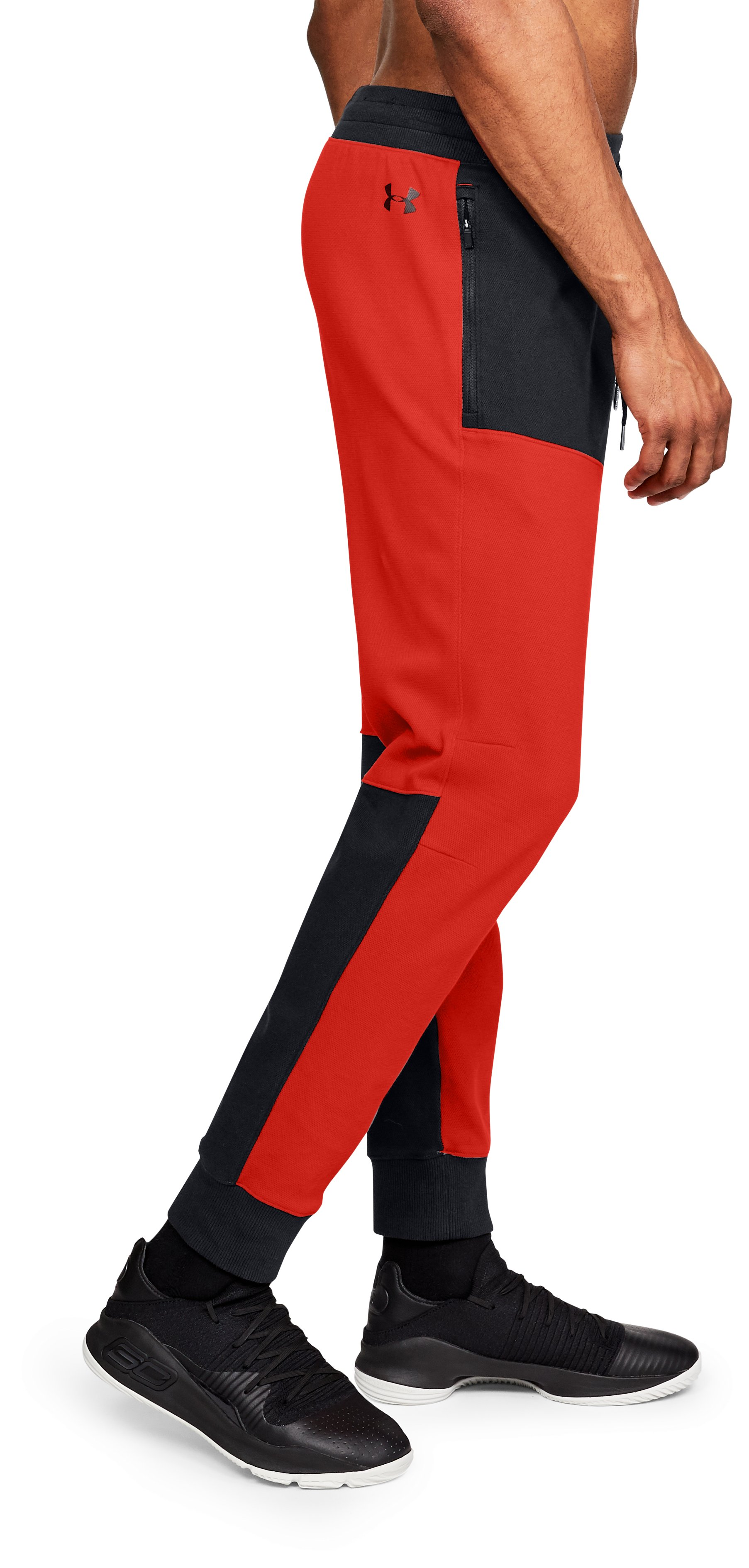 Men's UA Pursuit BTB Joggers, Radio Red,