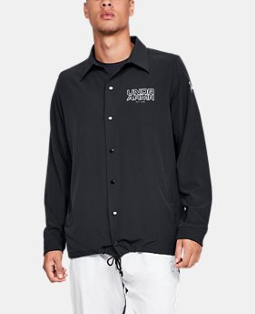 New Arrival  Men's UA Baseline Coaches Jacket  1  Color Available $100