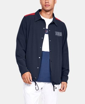 Men's UA Baseline Coaches Jacket  1  Color Available $80
