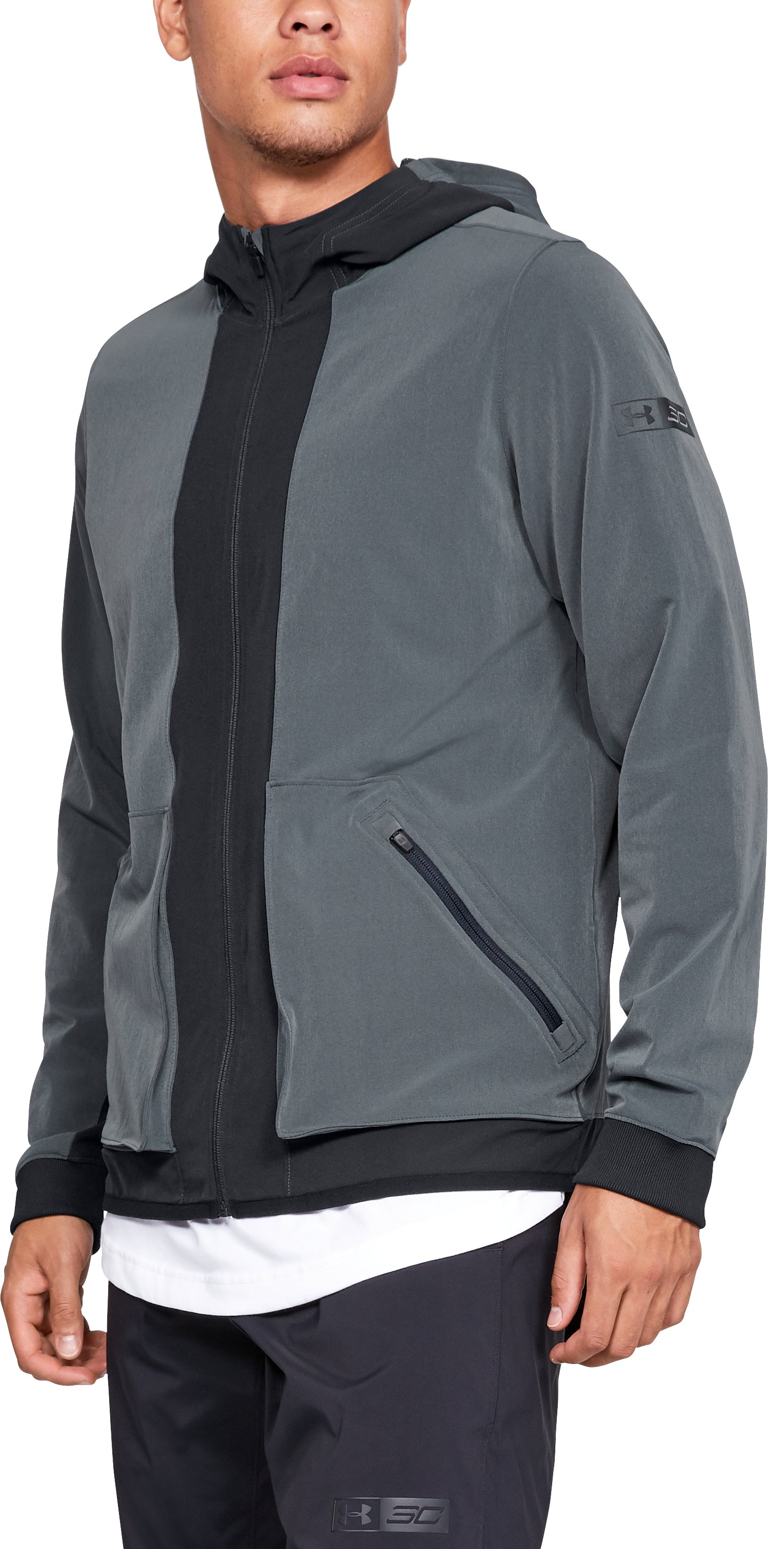 Men's SC30 Woven Jacket, Black ,