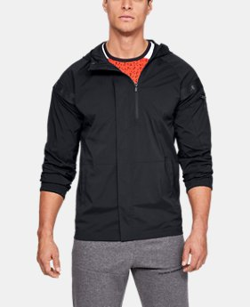 Best Seller  Men's UA Pursuit Windbreaker  1  Color Available $130