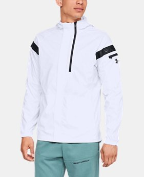 New Arrival  Men's UA Pursuit Windbreaker  1  Color Available $130