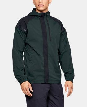 Best Seller Men's UA Pursuit Windbreaker  1  Color Available $110