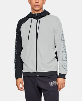 New Arrival Men's UA Baseline Woven Jacket  4  Colors Available $85