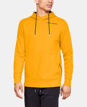 New Arrival Men's UA Pursuit Microthread Pullover Hoodie  3  Colors Available $70