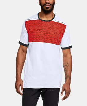 New Arrival Men's UA Pursuit Beat The Block T-Shirt  3  Colors Available $40