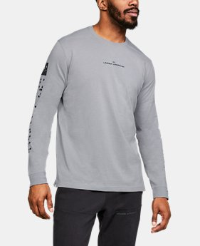 Men's UA Pursuit Long Sleeve  3  Colors Available $55